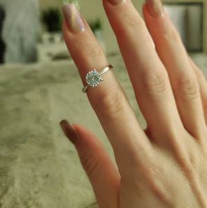 925 single setting ring